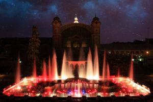magicka fontana - kulturni predstaveni v praze - krizikova fontana